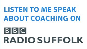 Listen to me speak about coaching on BBC radio suffolk